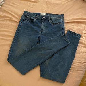 Gap 31 long skinny jeans